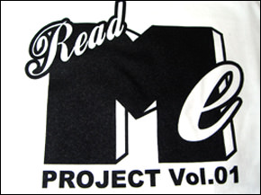 Read Me Project Tシャツ プリント